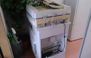中津市で業務用コピー機のビフォー写真