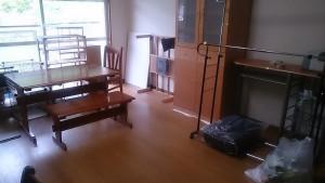 中津市でご家族用の家具家電回収ビフォー写真2