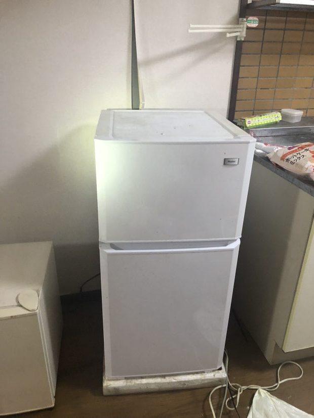 面倒な手続き不要で冷蔵庫洗濯機を捨てられた!30分程の短時間で効率よく片付いた、と喜んで頂けました!