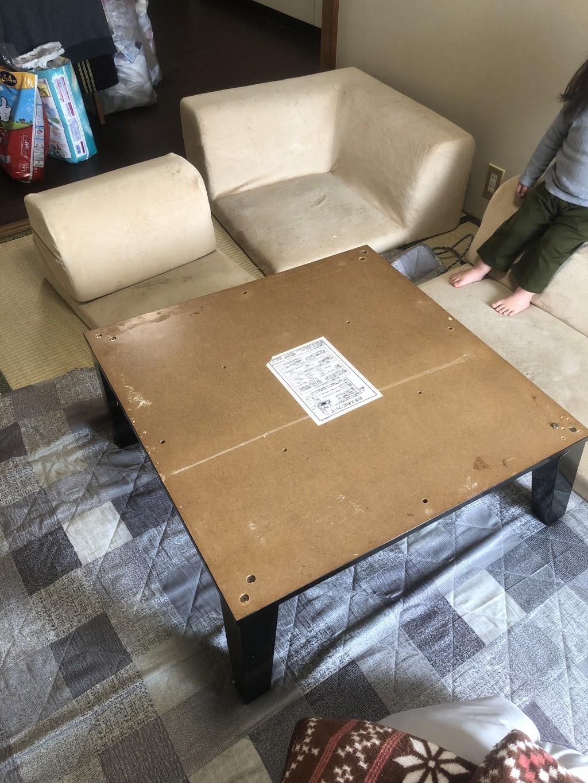 【日田市】こたつやソファーなど不用品の回収
