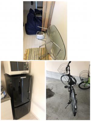 【東根市】お引っ越しに伴う不用品(テーブル、カーペット、冷蔵庫など)の回収のご依頼 お客様の声