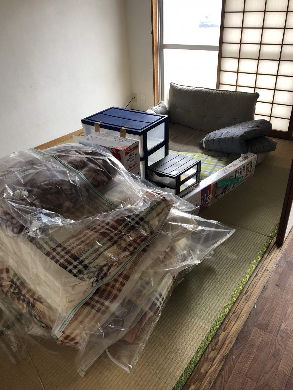 【大分市】引っ越し伴う回収☆処分方法が分からなかったソファ等を処分をでき、スタッフの素早い対応にご満足いただけました!