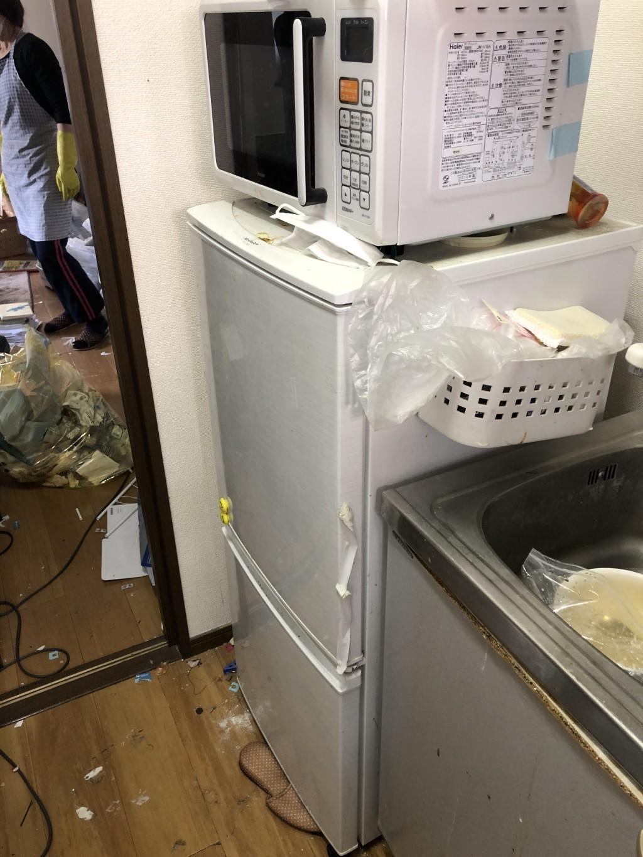 【大分市】洗濯機など軽トラック一台程度の不用品回収☆スタッフの親切な対応やお得なお値段に大変満足していただきました!