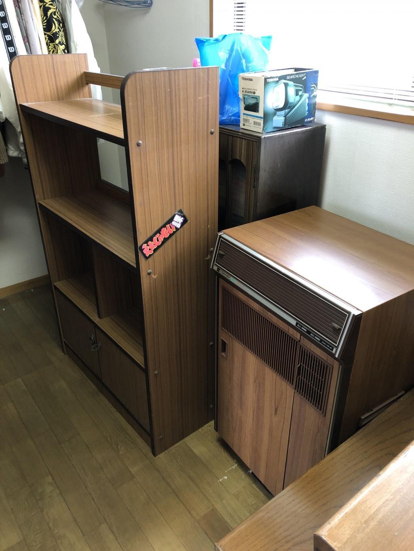 【大分市】エレクトーン、本棚、などの出張不用品回収・処分ご依頼