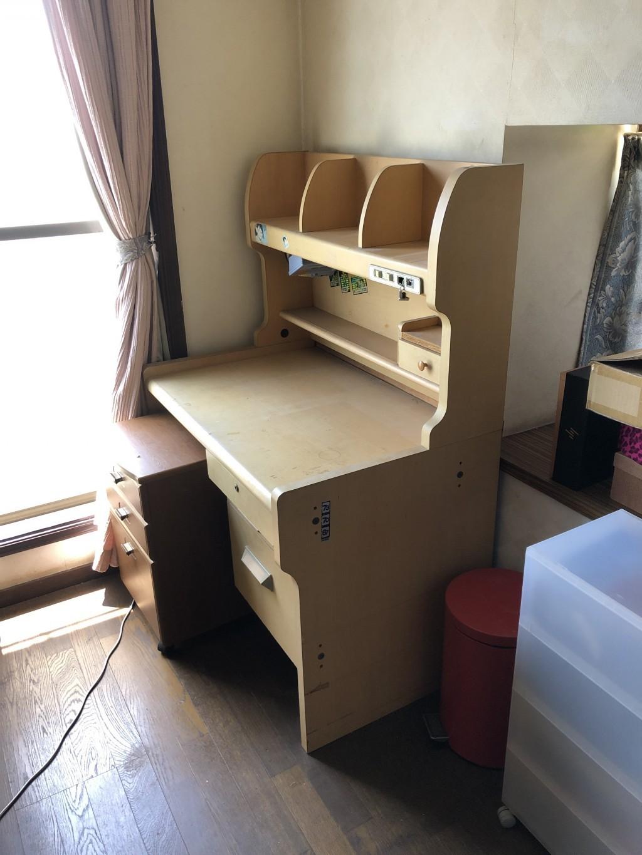 【大分市】学習机、本棚の回収 お客様の声