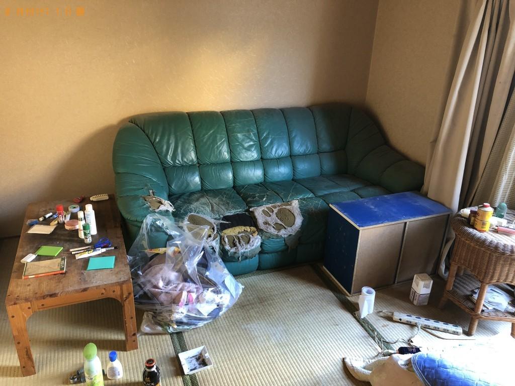 【大分市】引っ越しに伴う不用品回収・処分 お客様の声