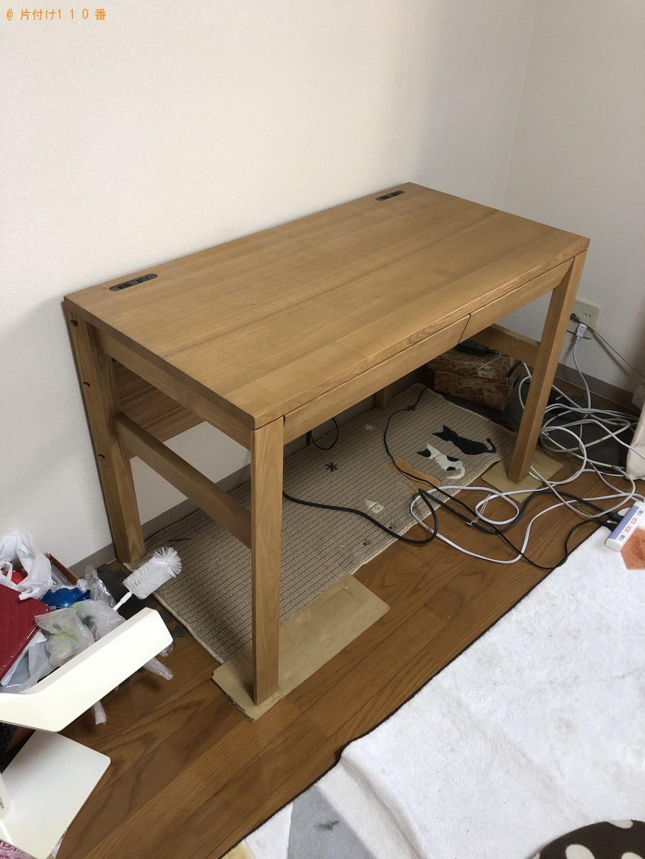 【大分市】こたつ、ベッド、学習机の不用品回収処分 お客様の声