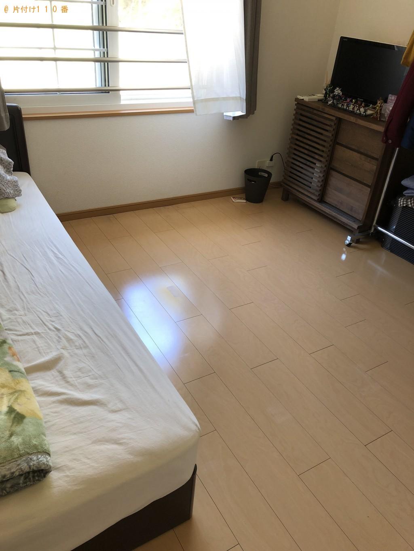 【神川町】シングルベッドの不用品回収処分 お客様の声