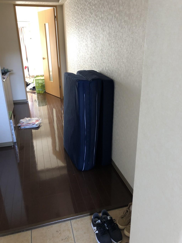 【大分市】引っ越しに伴う不用品回収 お客様の声