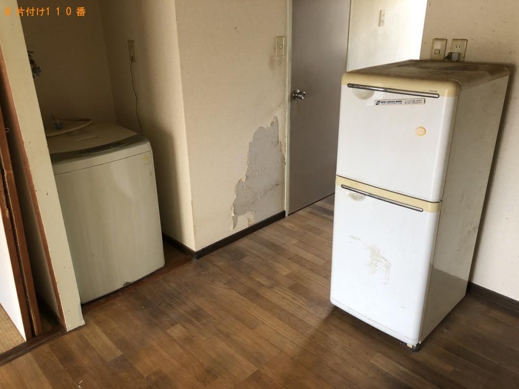 【日田市】遺品整理にあたり冷蔵庫などの出張不用品回収・処分ご依頼