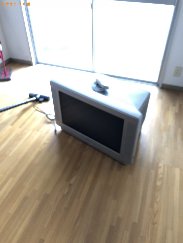 【大分市三ケ田町】冷蔵庫とテレビの処分 お客様の声