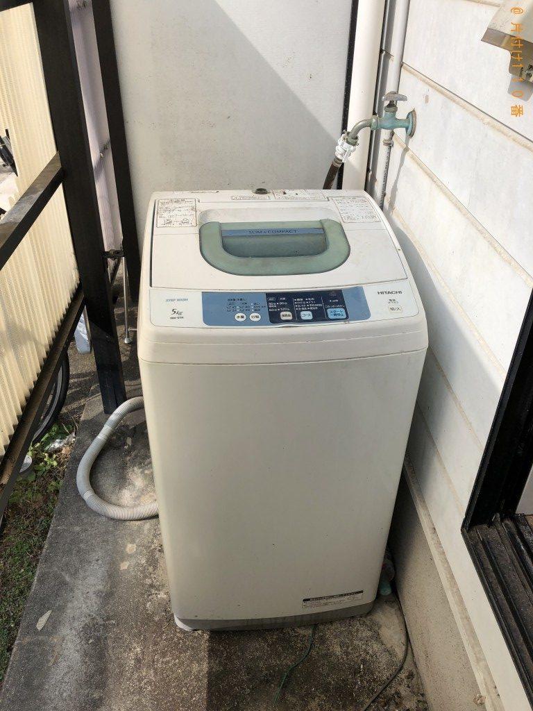 【大分市】洗濯機1点の回収・処分 お客様の声