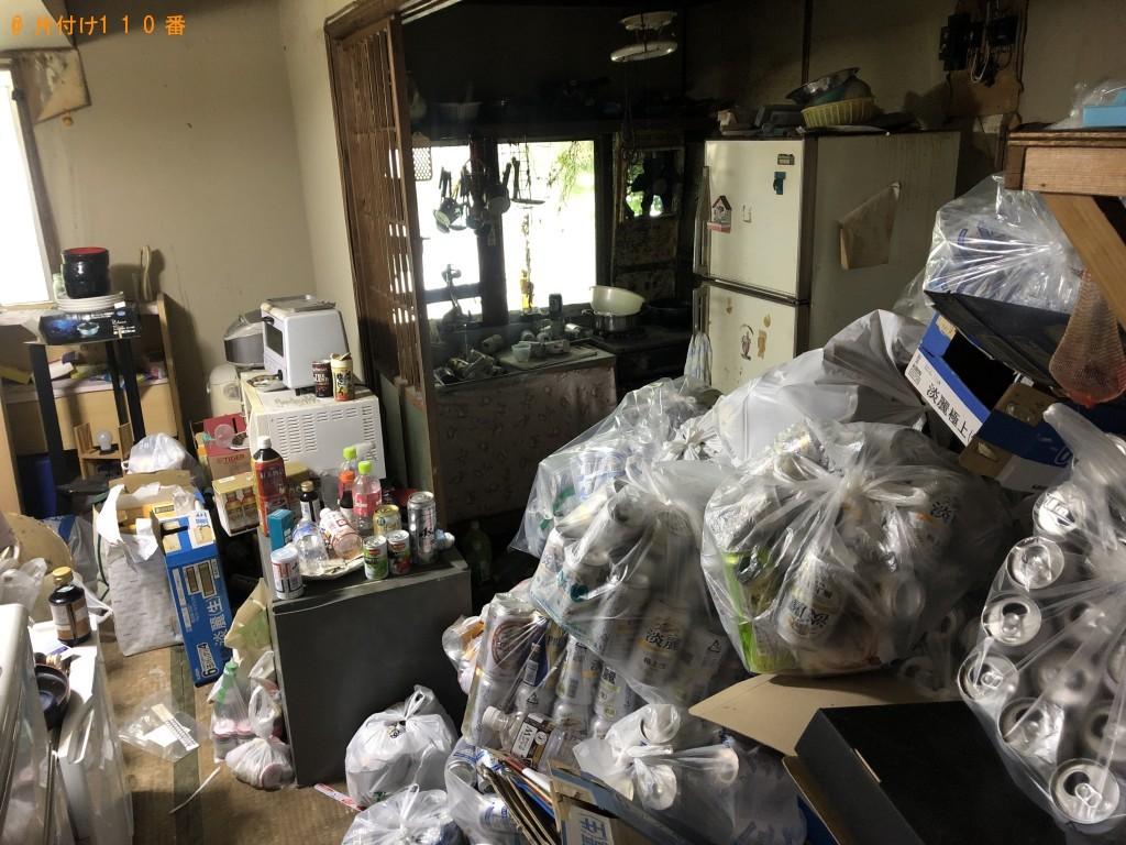 【津久見市セメント町】ダンボール、空き缶など大量のごみ回収・処分ご依頼