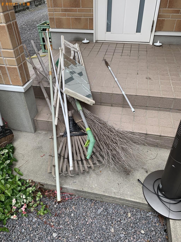 【宇佐市】一輪車、犬小屋、キャビネットなどの出張不用品回収・処分ご依頼
