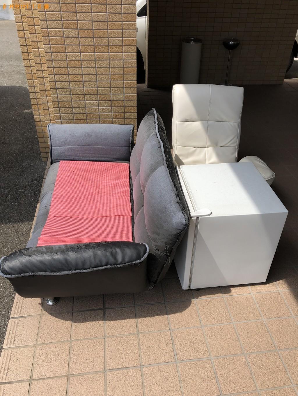 【大分市】冷蔵庫とソファーの回収・処分 お客様の声
