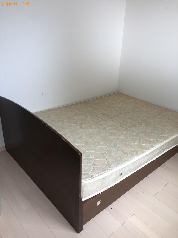 【別府市】ダブルベッドとマットレスの回収・処分 お客様の声