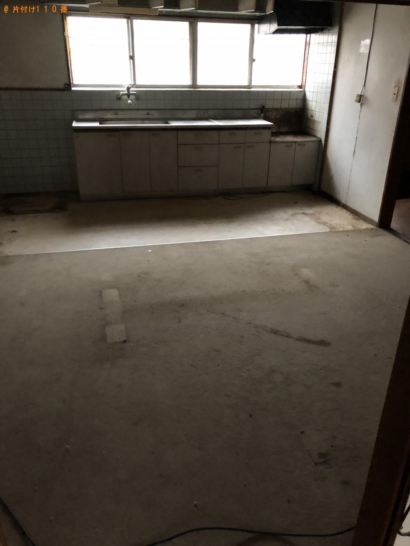 【別府市】シングルベッド、鏡台、整理棚等の回収・処分 お客様の声