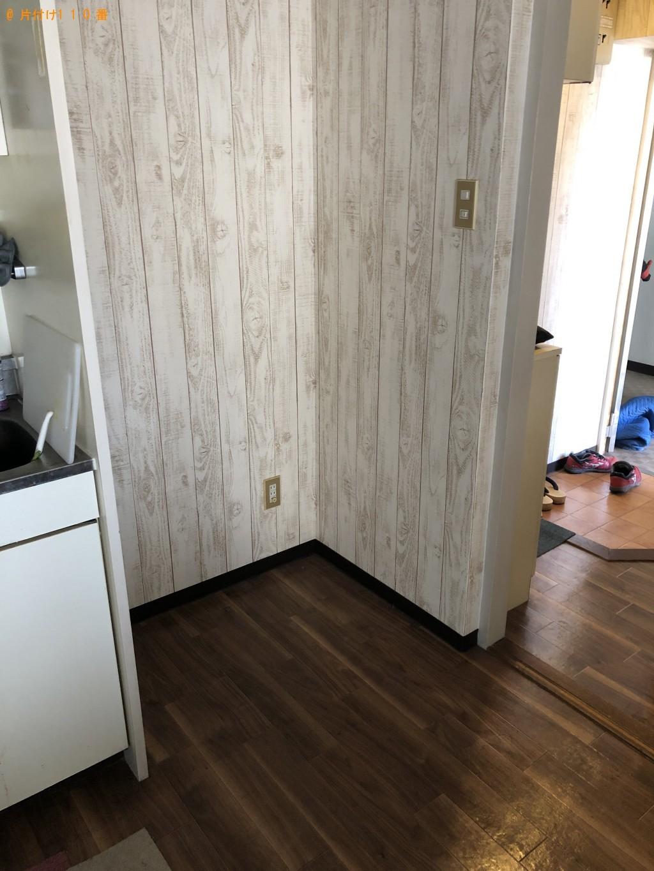 【大分市金池町】冷蔵庫1点の回収・処分 お客様の声