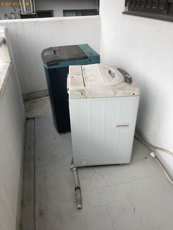 【大分市】洗濯機2点の回収・処分 お客様の声