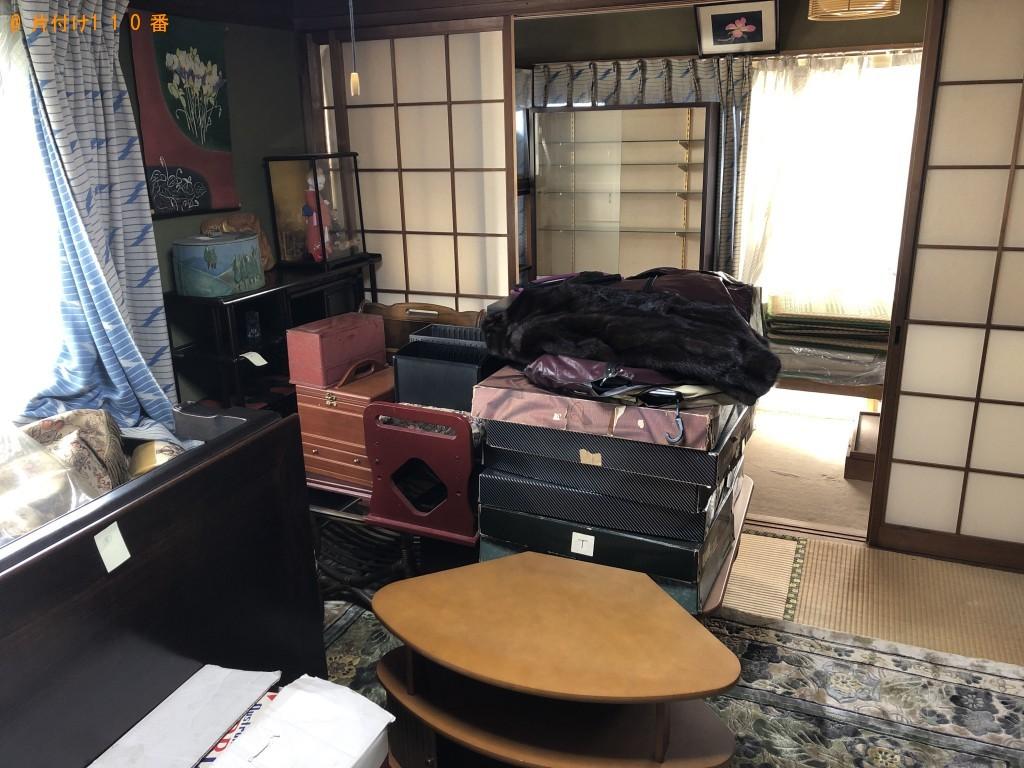 【大分市東春日町】シングルベッド、机、座椅子等の回収・処分 お客様の声