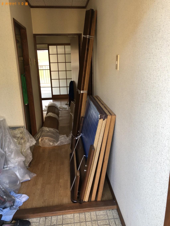 【大分市】引越しに伴い家具、細々した物の処分ご依頼 お客様の声