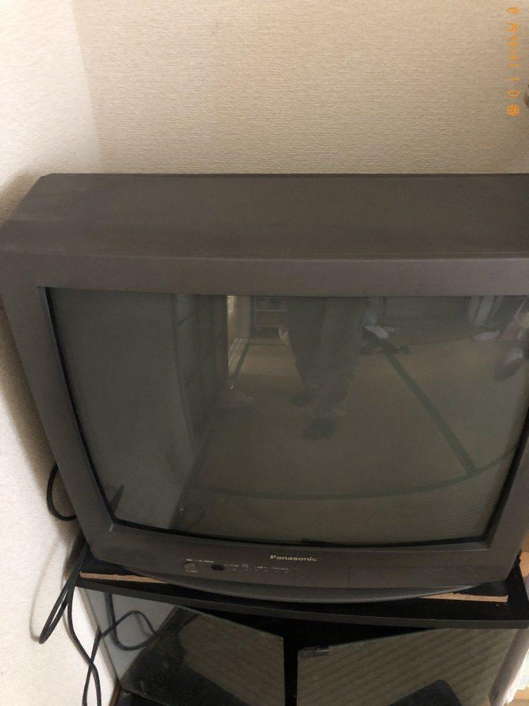 【別府市】テレビ、こたつ、テレビ台の回収・処分ご依頼 お客様の声