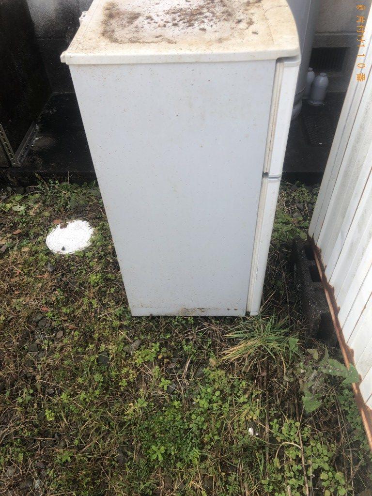 【宇佐市安心院町】冷蔵庫の回収・処分ご依頼 お客様の声
