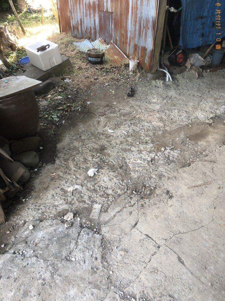 【中津市】陶器類、粗大ごみの回収・処分ご依頼 お客様の声