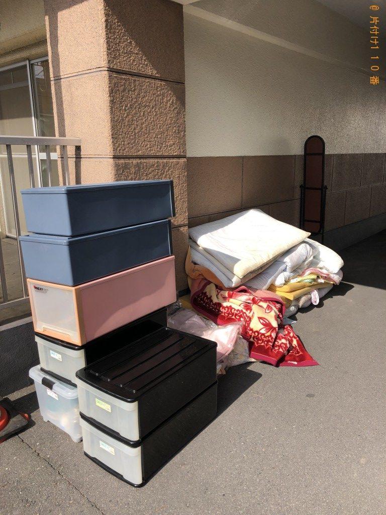 【大分市】エアコン、洗濯機、こたつ、整理タンス、食器棚等の回収