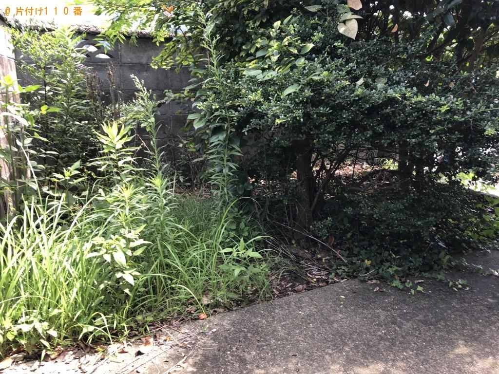【大分市】お庭の草刈り、刈った草の回収・処分ご依頼 お客様の声
