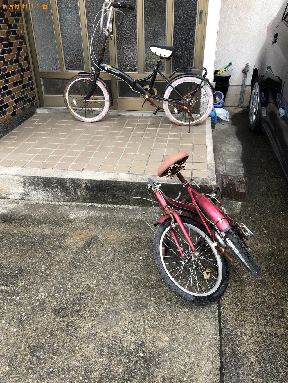 【大分市大石町】自転車の回収・処分ご依頼 お客様の声