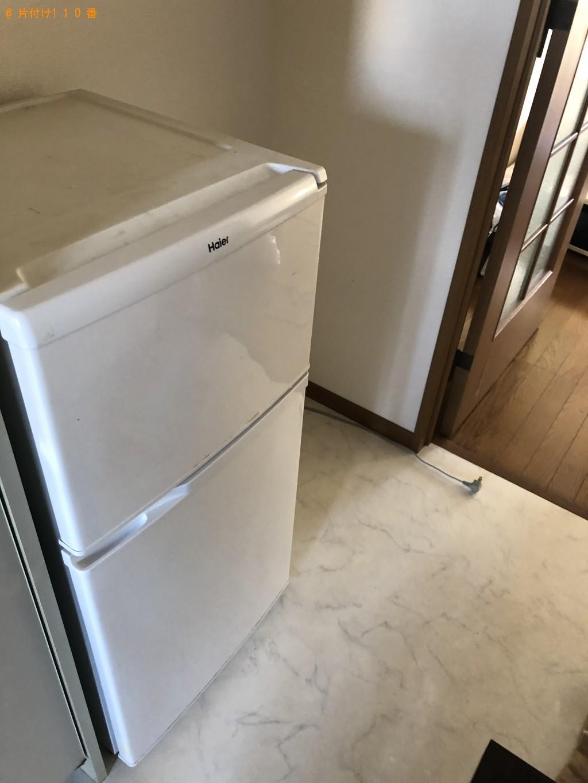 【大分市】冷蔵庫、洗濯機、シングルベッド等の回収・処分ご依頼