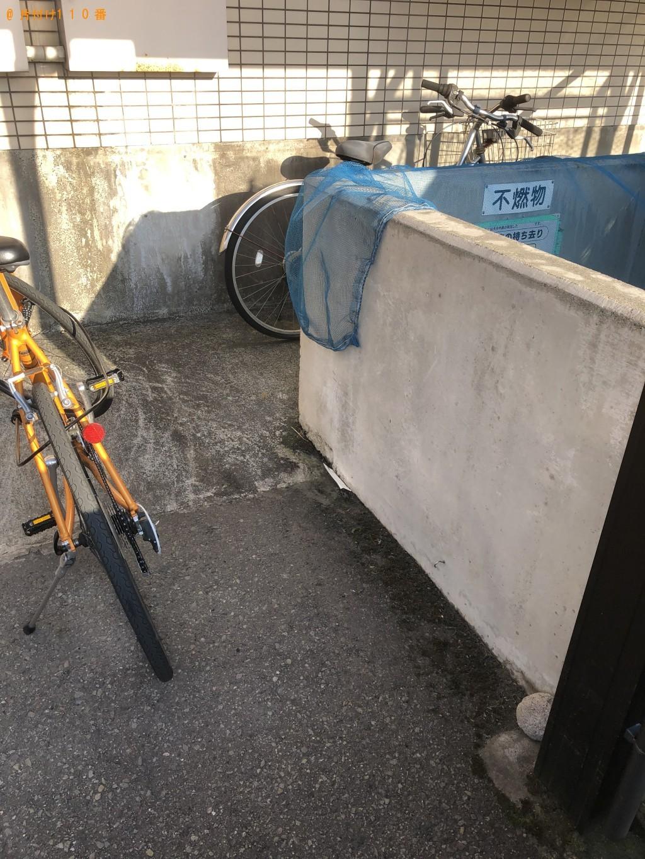 【大分市】自転車の回収・処分ご依頼 お客様の声