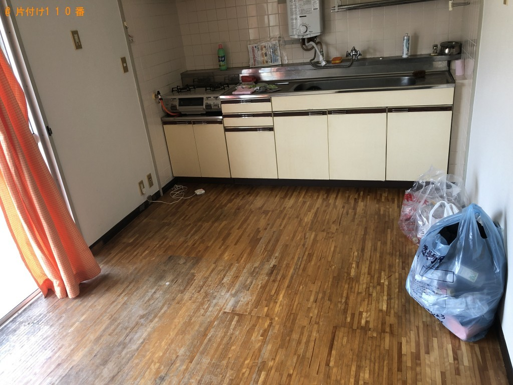 【玖珠郡玖珠町】冷蔵庫、洗濯機、こたつ、食器棚等の回収・処分