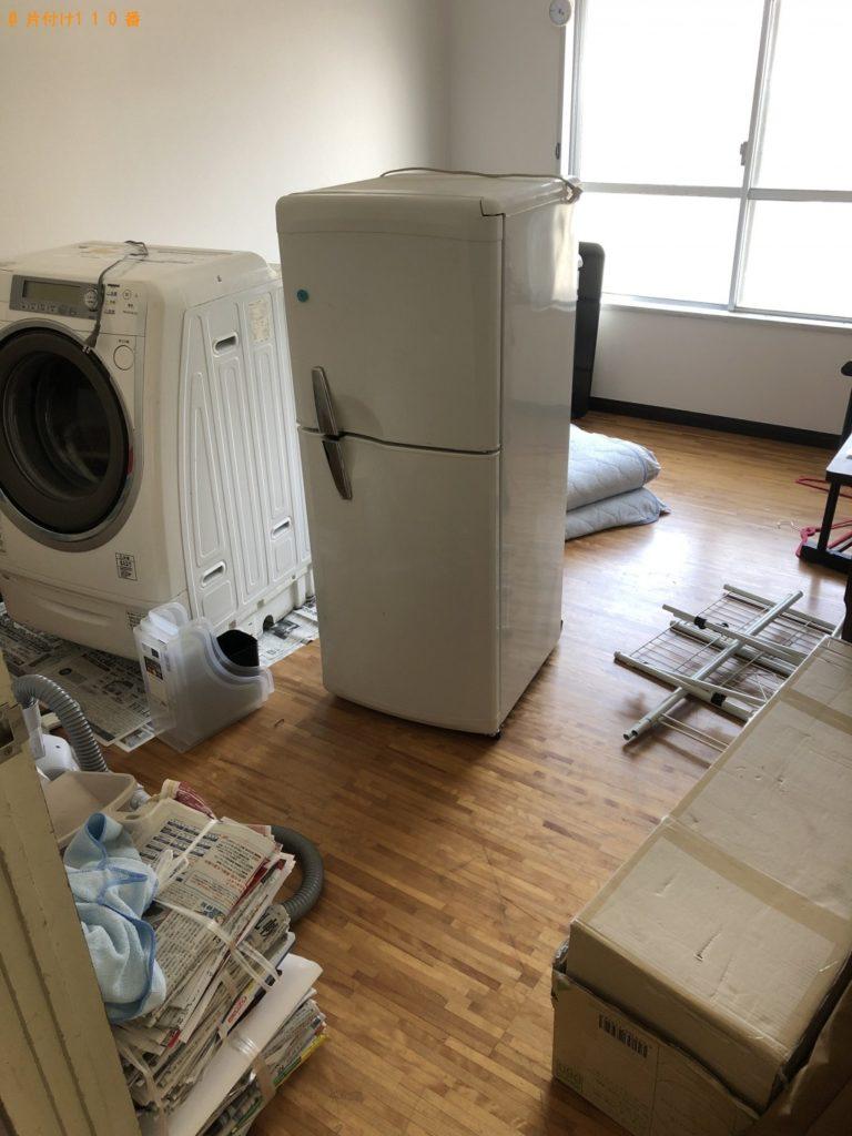 【練馬区】遺品整理に伴い冷蔵庫、洗濯機、こたつ、食器棚等の回収・処分