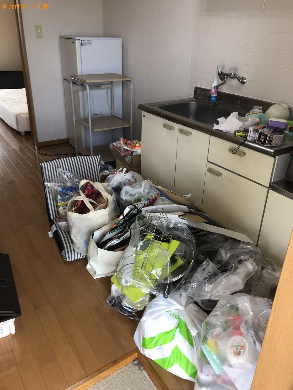 【国東市安岐町】冷蔵庫、洗濯機、シングルベッド等の回収・処分