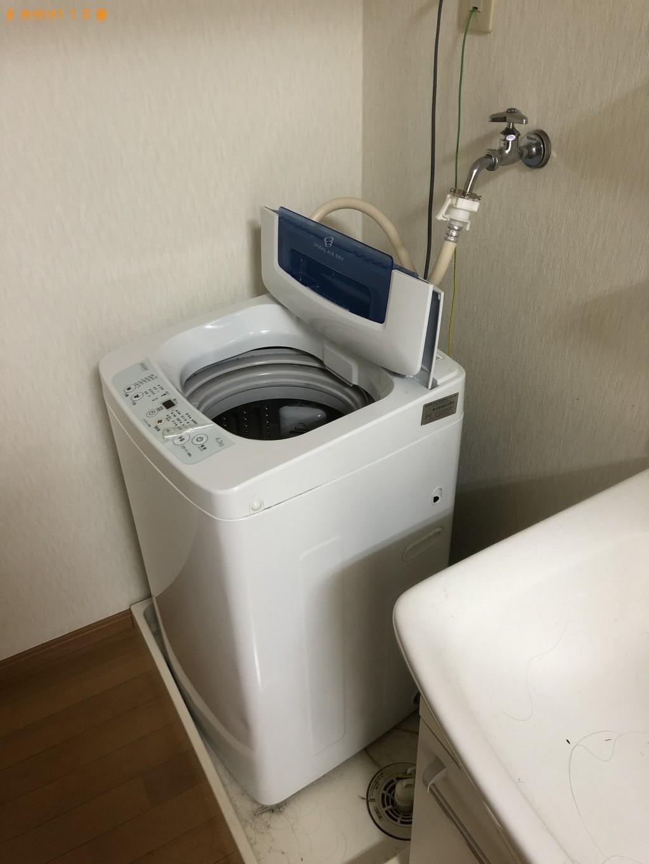 【【国東市安岐町】冷蔵庫、洗濯機、シングルベッド等の回収・処分