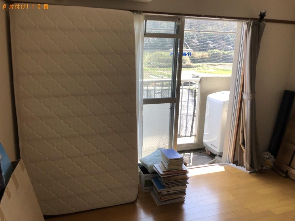 【大分市】冷蔵庫、洗濯機、電子レンジ、シングルベッド等の回収