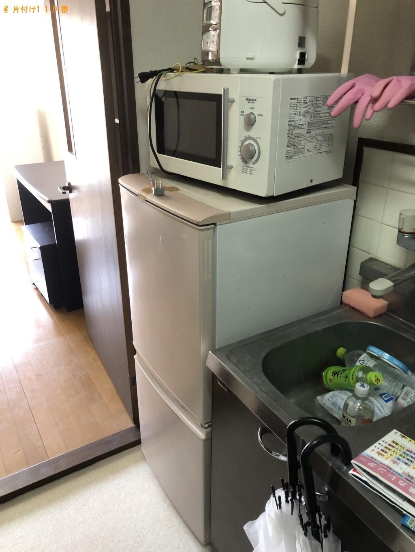 【大分市】冷蔵庫、洗濯機、シングルベッドの回収・処分ご依頼
