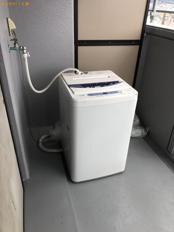 【大分市】洗濯機、こたつ、整理タンス、食器棚等の回収・処分ご依頼