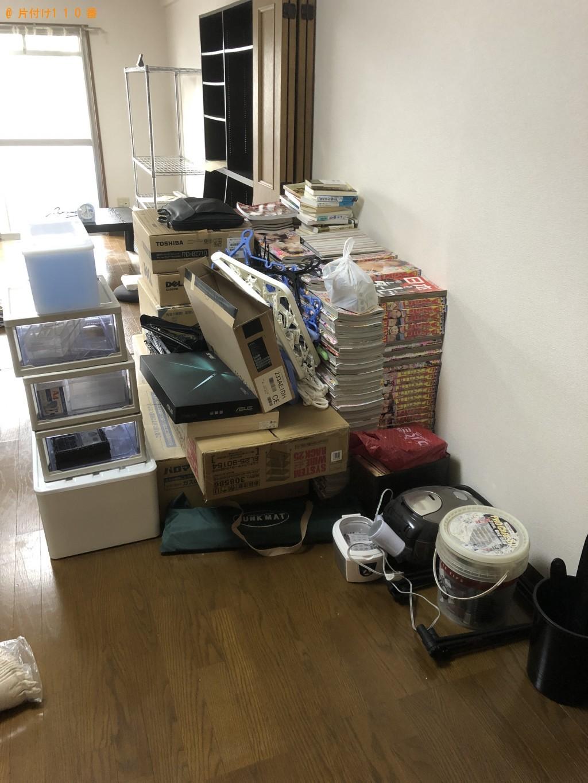 【大分市】パソコン、こたつ、本棚、カラーボックス等の回収・処分