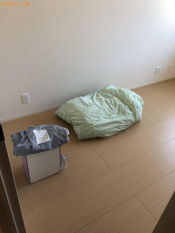 【大分市】布団、布団乾燥機、オモチャ、毛布等の回収・処分ご依頼