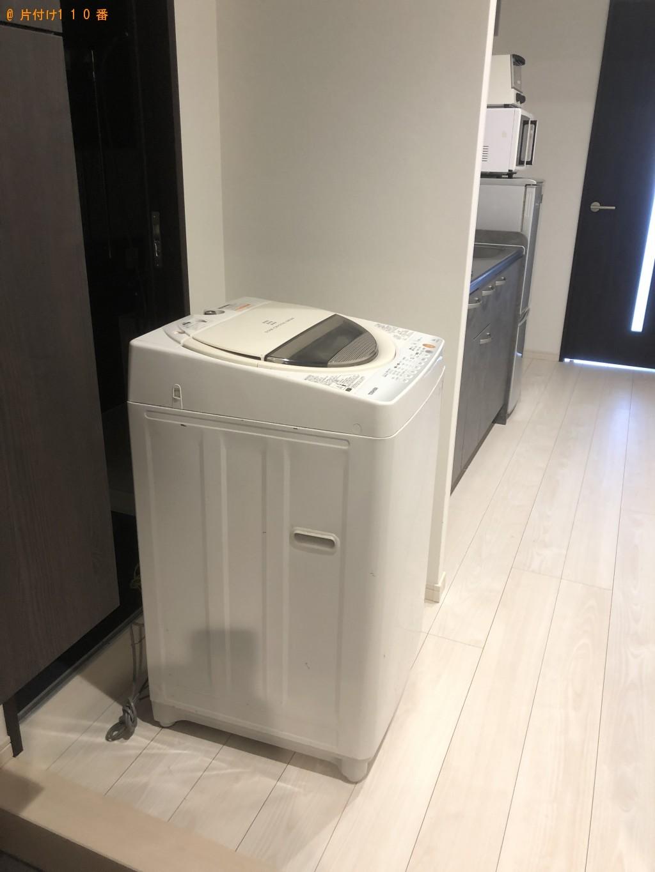 【別府市汐見町】冷蔵庫、洗濯機、電子レンジ、トースターの回収