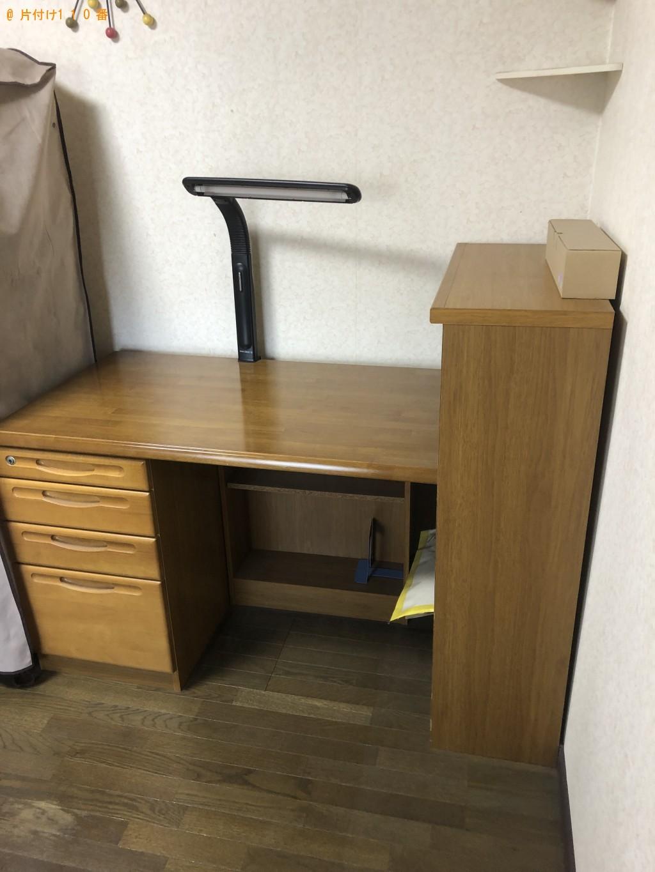 【大分市王子西町】学習机、椅子等の回収・処分ご依頼 お客様の声