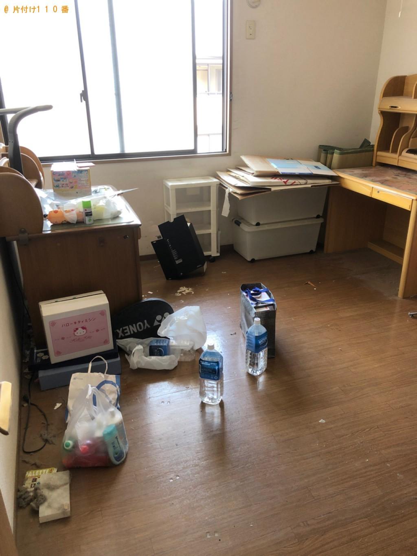 【大分市】学習机、タンス等の回収とハウスクリーニングご依頼