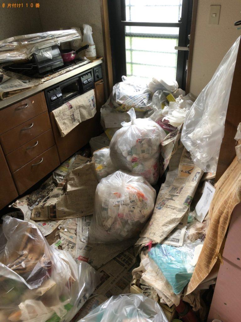 【島田市】台所にある不用品を袋詰めする作業のご依頼 お客様の声