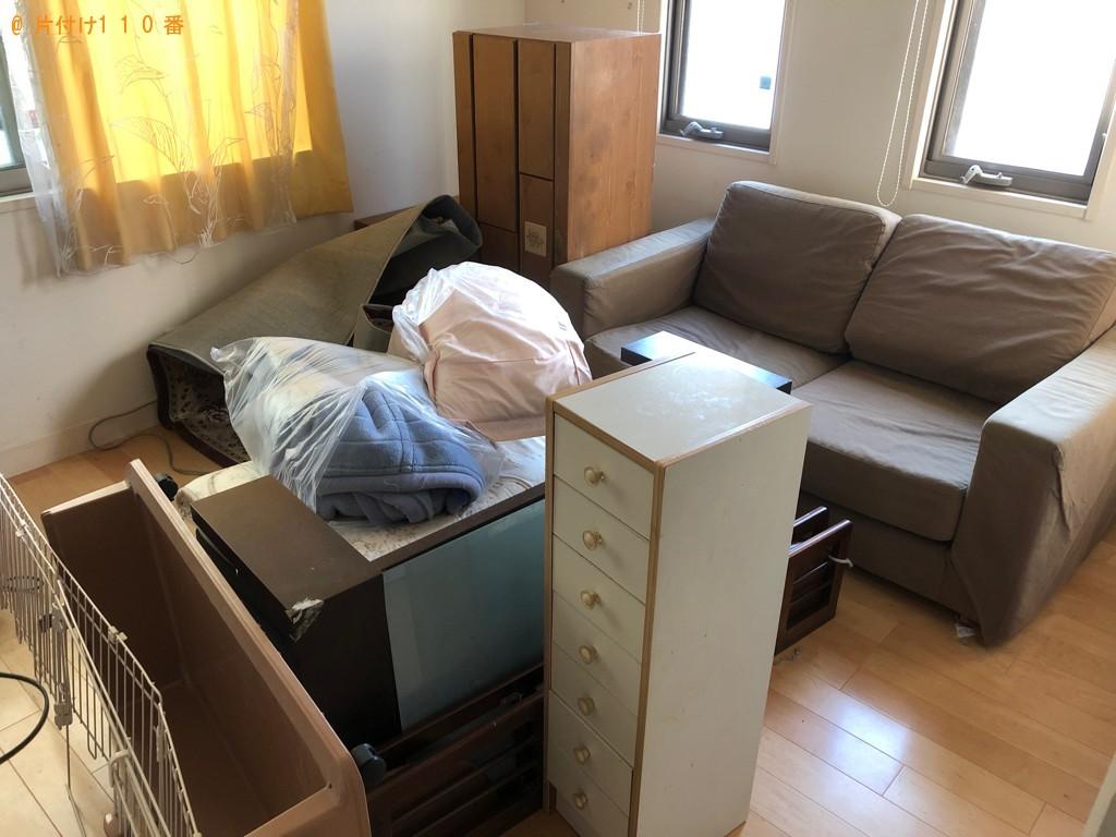 【大分市】タンス、ソファー、椅子、自転車、布団等の回収・処分