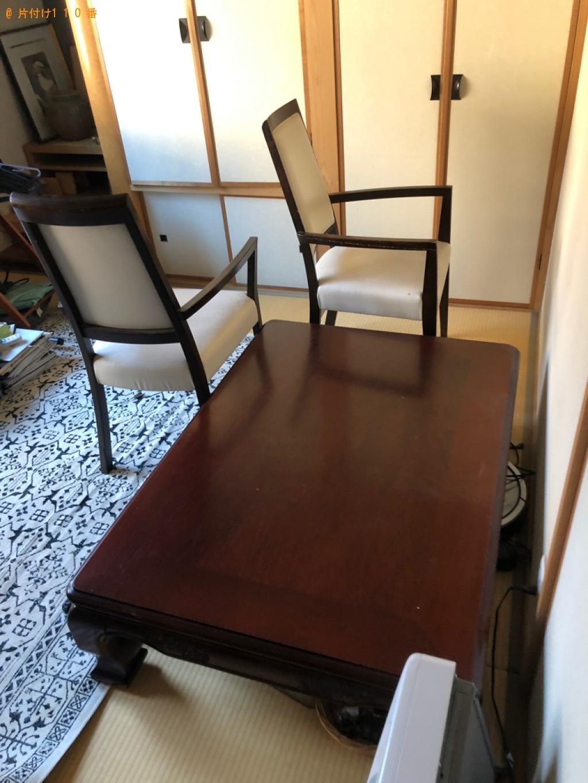 【西東京市】遺品整理に伴いタンス、ソファー、椅子、自転車、布団等の回収・処分