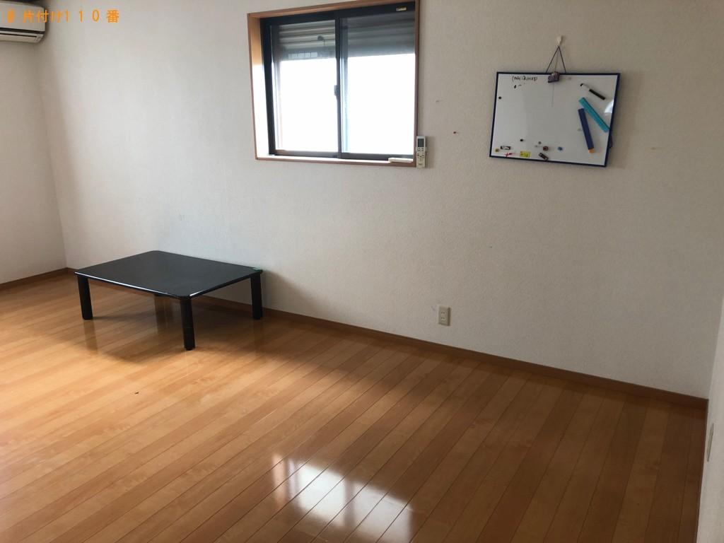 【大分市】タンス、椅子の回収とハウスクリーニングご依頼
