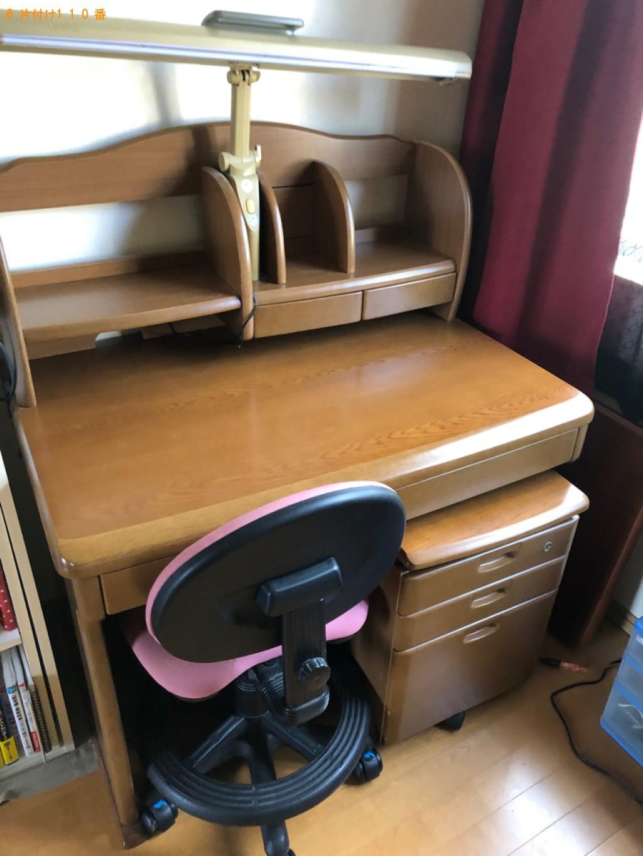 【大分市】学習机、椅子の回収・処分ご依頼 お客様の声